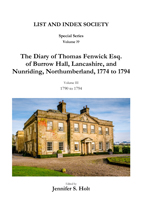Diary of Thomas Fenwick, Volume III